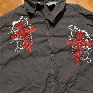 Roar Shirts - Men's button down western shirt.